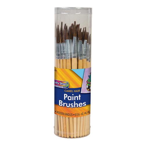 Creativity Street Paint Brush Assortment, 72-Pack