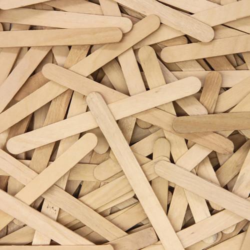 "Creativity Street Natural Wood Craft Sticks, 4-1/2""L, 150"