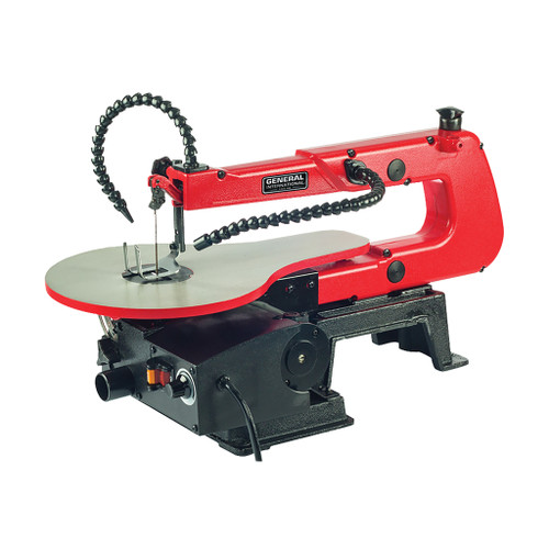 """General Intl 16"""" VS Scroll Saw with Light"""