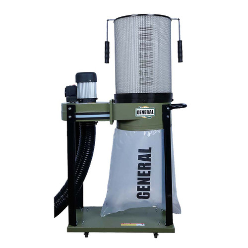 General Intl 1 HP Dust Collector with Smart Switch, Canister Filter