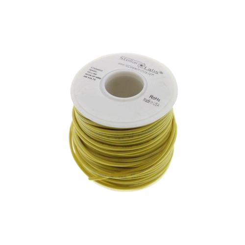 Multicomp Pro Stranded PVC Hook Up Wire, 24AWG Yellow