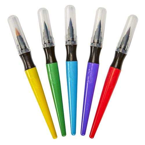 Crayola Washable Paint Brush Pens, 5-Pack