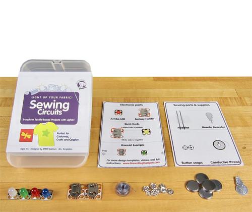 Brown Dog Gadgets Sewing Circuits Standard Kit