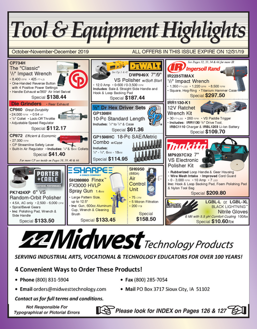 Automotive Tool & Equipment Catalog