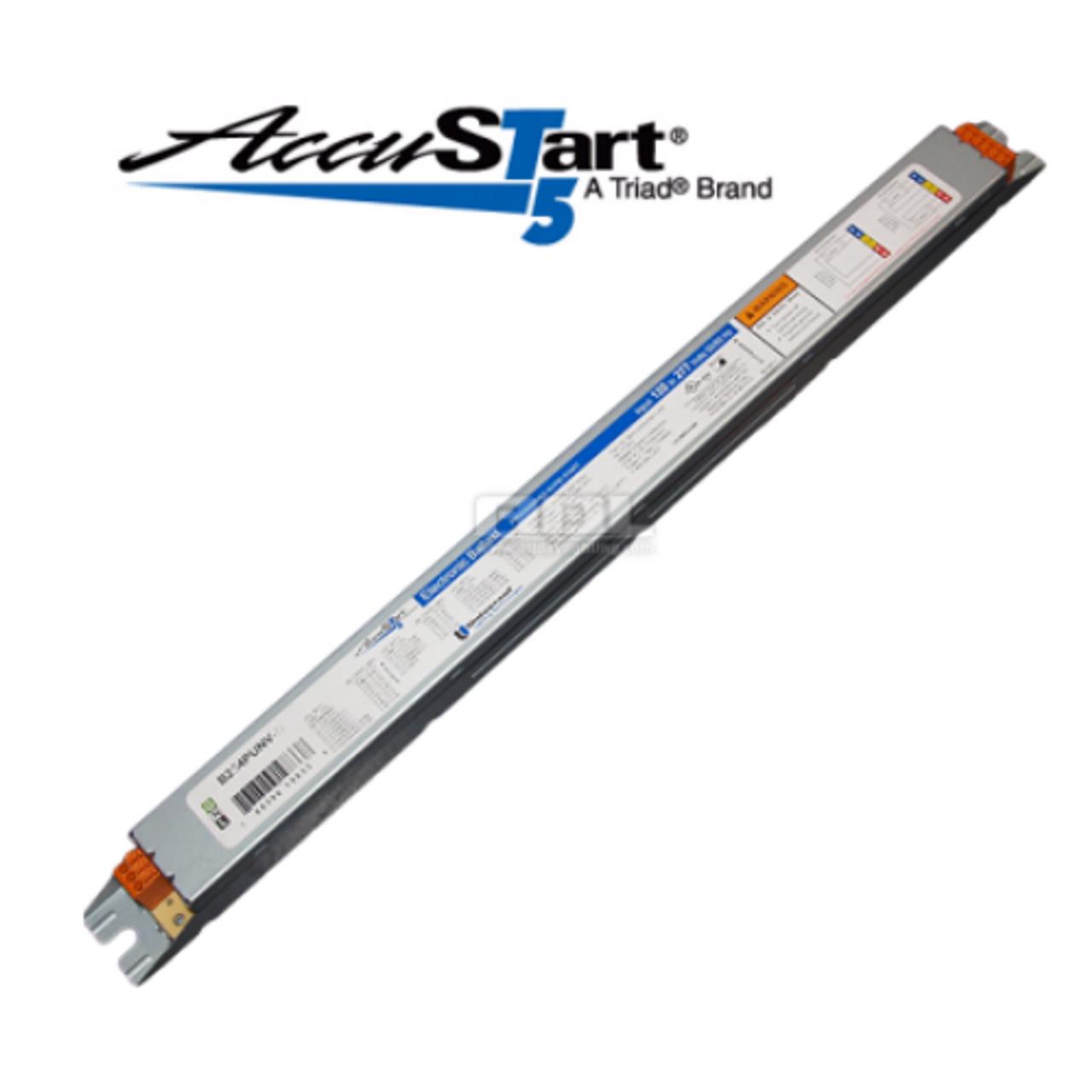 28W T5 2 LAMP UNIVERSAL B228PUNV-C ELECTRONIC FLUORESCENT BALLAST 120//277V