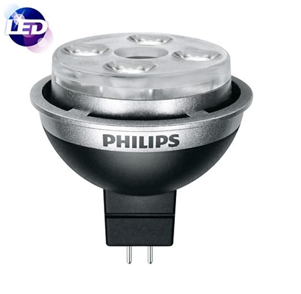 Philips 10MR16//END//F24 2700 DIM 10//1 10W LED 42016-6
