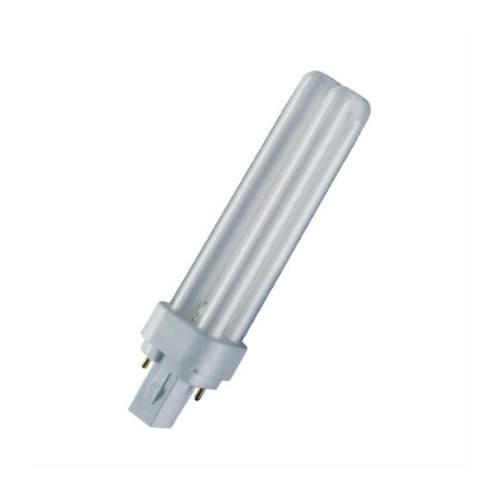 OSRAM Dulux D//E 10w 600lm  G24q-1Cool White 4000k Light Bulb 4 Pins