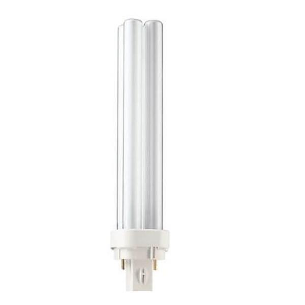 NEW Philips 18W//841//4P Alto PL-C Compact 4-Pin 18W Fluorescent Lamp G24q-2