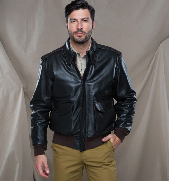 Leather U.S. Air Force Bomber Jacket