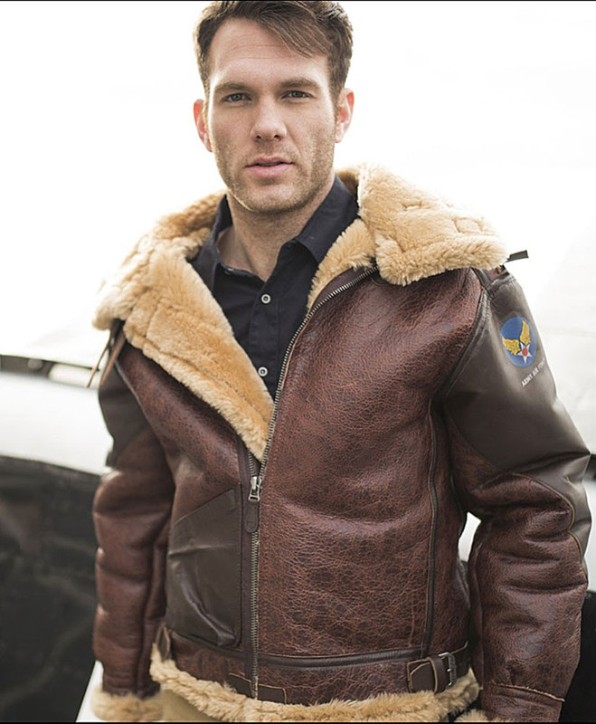 Pearl Harbor B3 Bomber Jacket Sheepskin