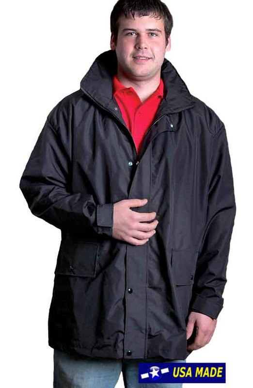 The Elements Rain Jacket for dry warmth
