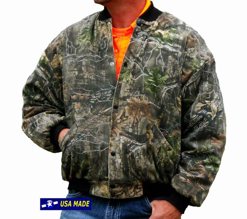 Camouflage Hunting Jacket Made USA