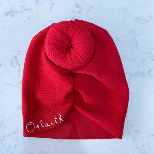 Red Knot Baby Hair Accessory