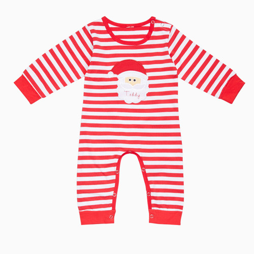 Santa Personalised Baby Grow