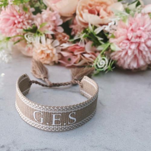 Nude Personalised Bracelet