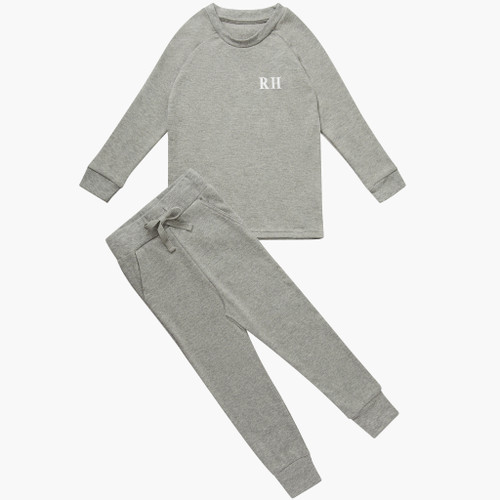 Grey Personalised Kids Lounge Set