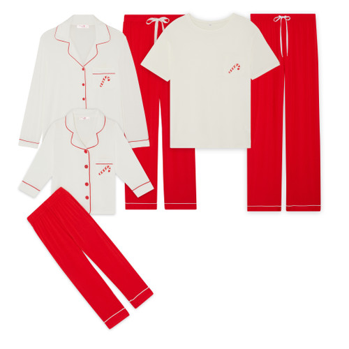 Non-Personalised Limited Edition Christmas Pyjama Sets (Kids £30, Adults Short £36, Adults Long £40)