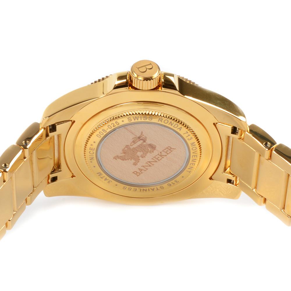 Nice Gold (Navy / Maple)
