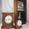 The perfect clock for any room in your home or office.  Desk Clocks, Mantel Clocks, and Wall Clocks are now available.