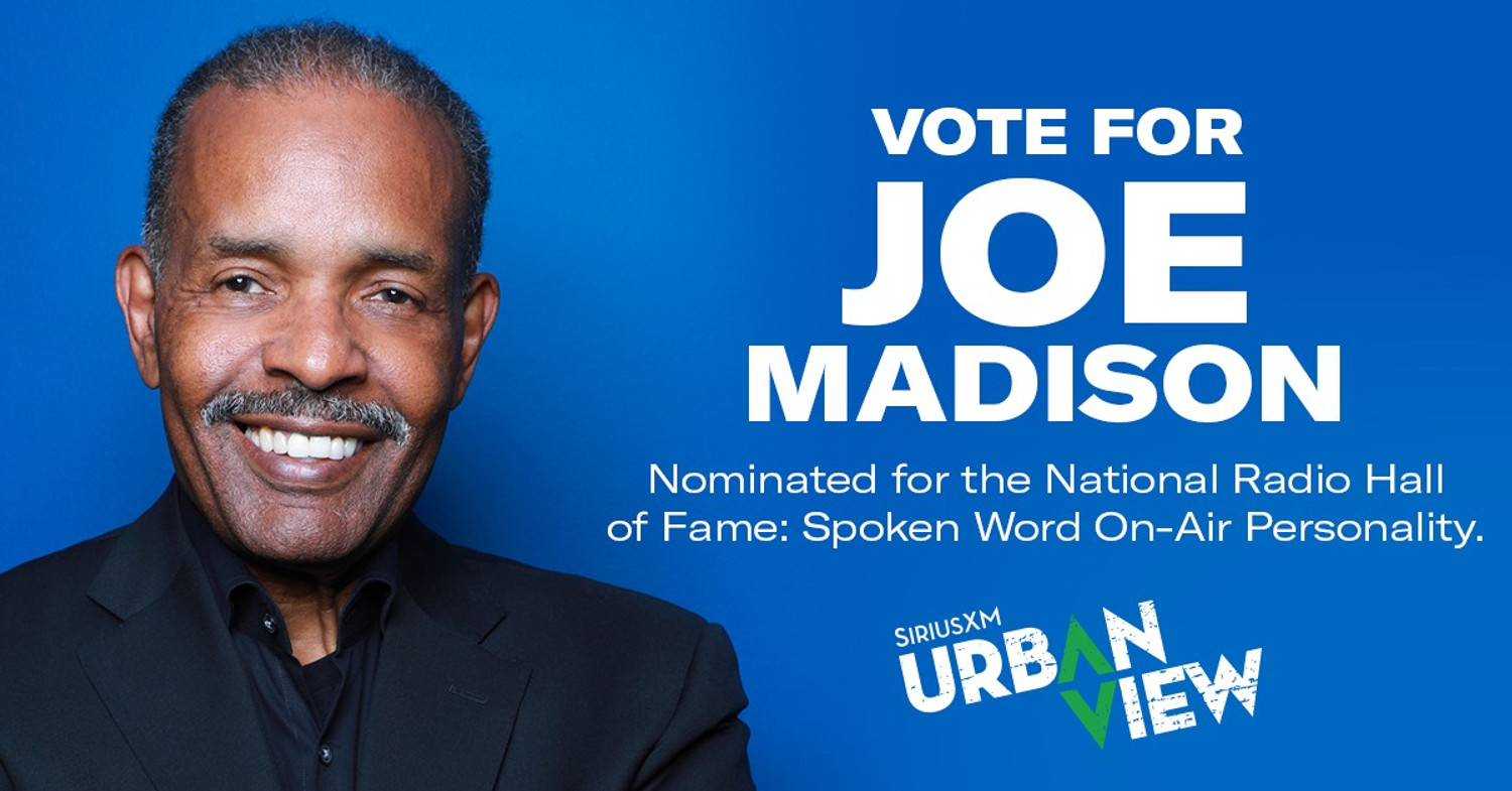 Vote for Joe Madison - National Radio Hall of Fame