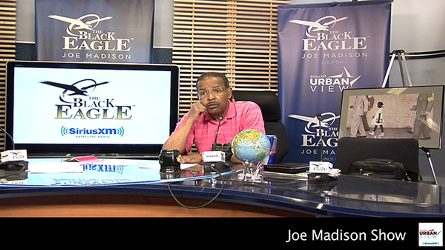 Derrick Holmes (Banneker Watches) interview on Joe Madison Show