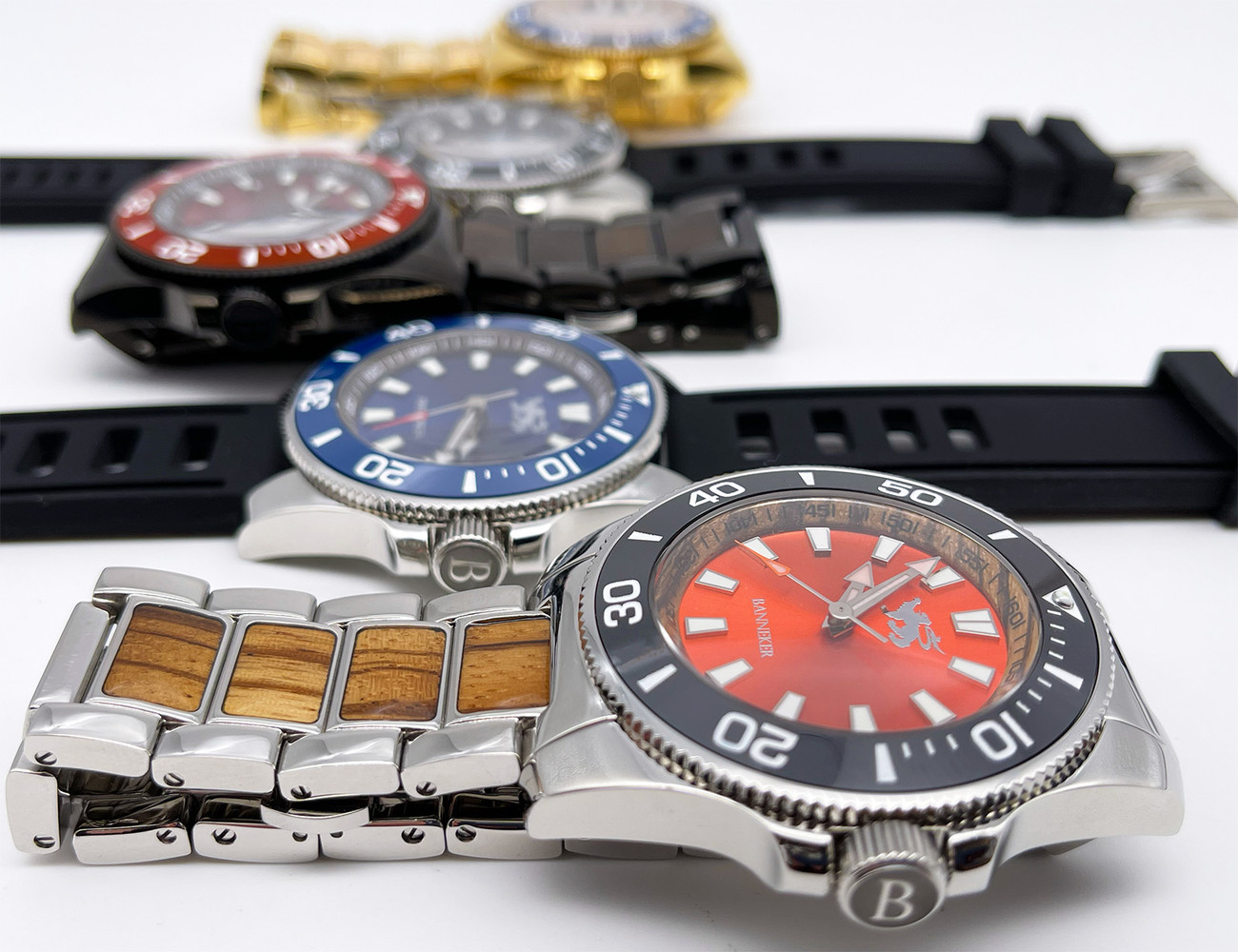 """These may just be the Nicest watches we've ever produced - 6 styles of the Banneker """"Nice"""" available now"""
