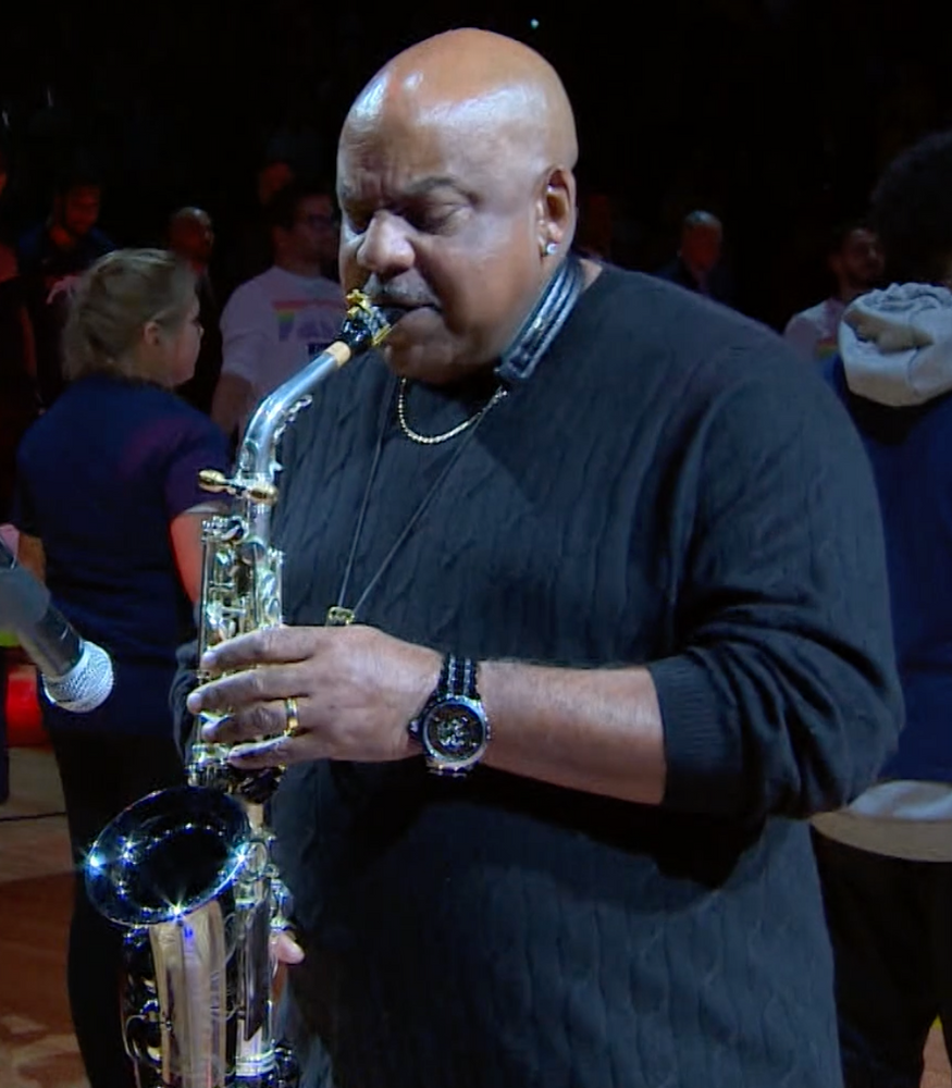 8 Time Grammy Nominee Gerald Albright wearing Banneker 1753 during recent incredible live performance