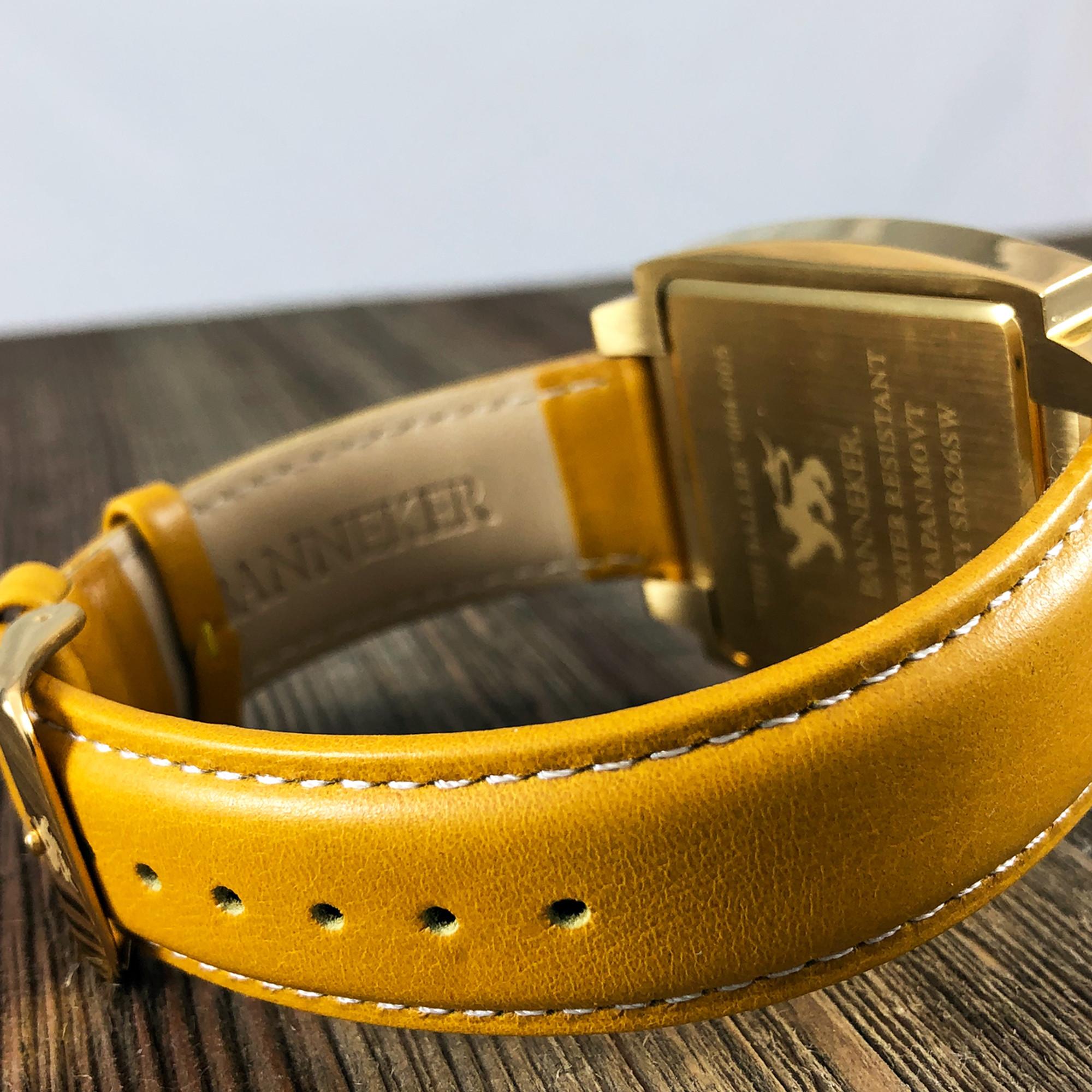 c0d288e93 The Gold Baller Watch by Banneker Watches & Clocks
