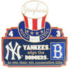 1952 World Series Commemorative Pin - Yankees vs. Dodgers
