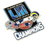Super Bowl LIII (53) Champions Ultimate Pin - Limited 1,000 - Medium Style