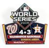 2019 World Series Commemorative Pin - Nationals vs. Astros