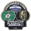 2020 NHL Western Conference Dueling Pin - Stars vs. Knights