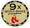 Boston Red Sox 9-Time World Series Champions Pin - Limited 1,000