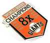 San Francisco Giants 8 -Time World Series Champions Pin - Limited 1,000