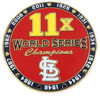 St. Louis Cardinals 11 -Time World Series Champions Pin - Limited 1,000