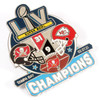 Super Bowl LV (55) Champions Ultimate Pin - Limited 1,000 - Medium Style