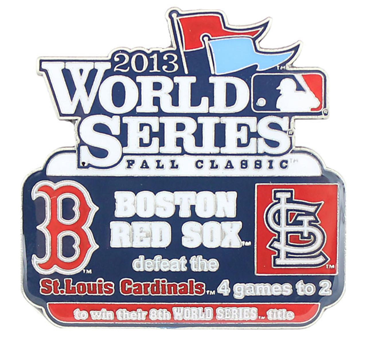 2013 World Series Commemorative Pin - Red Sox vs  Cardinals
