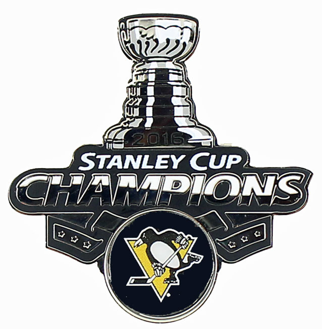 super popular e6cce 5b361 Pittsburgh Penguins 2016 NHL Stanley Cup Champs Trophy Pin