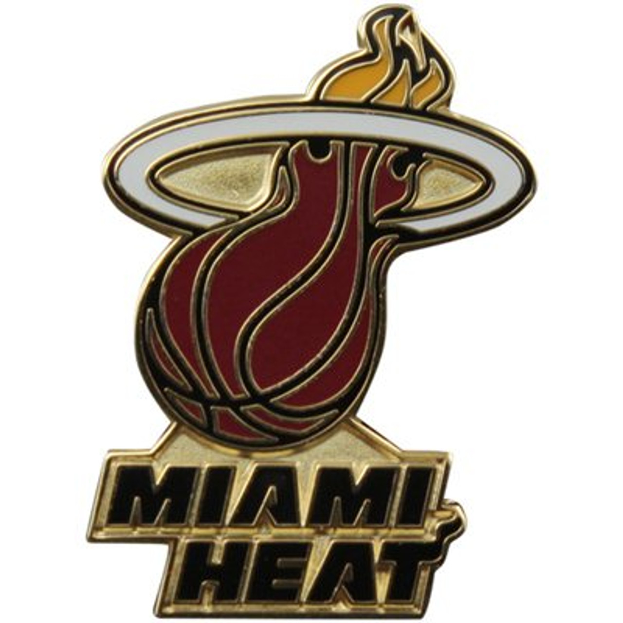 Miami Heat Logo Pin