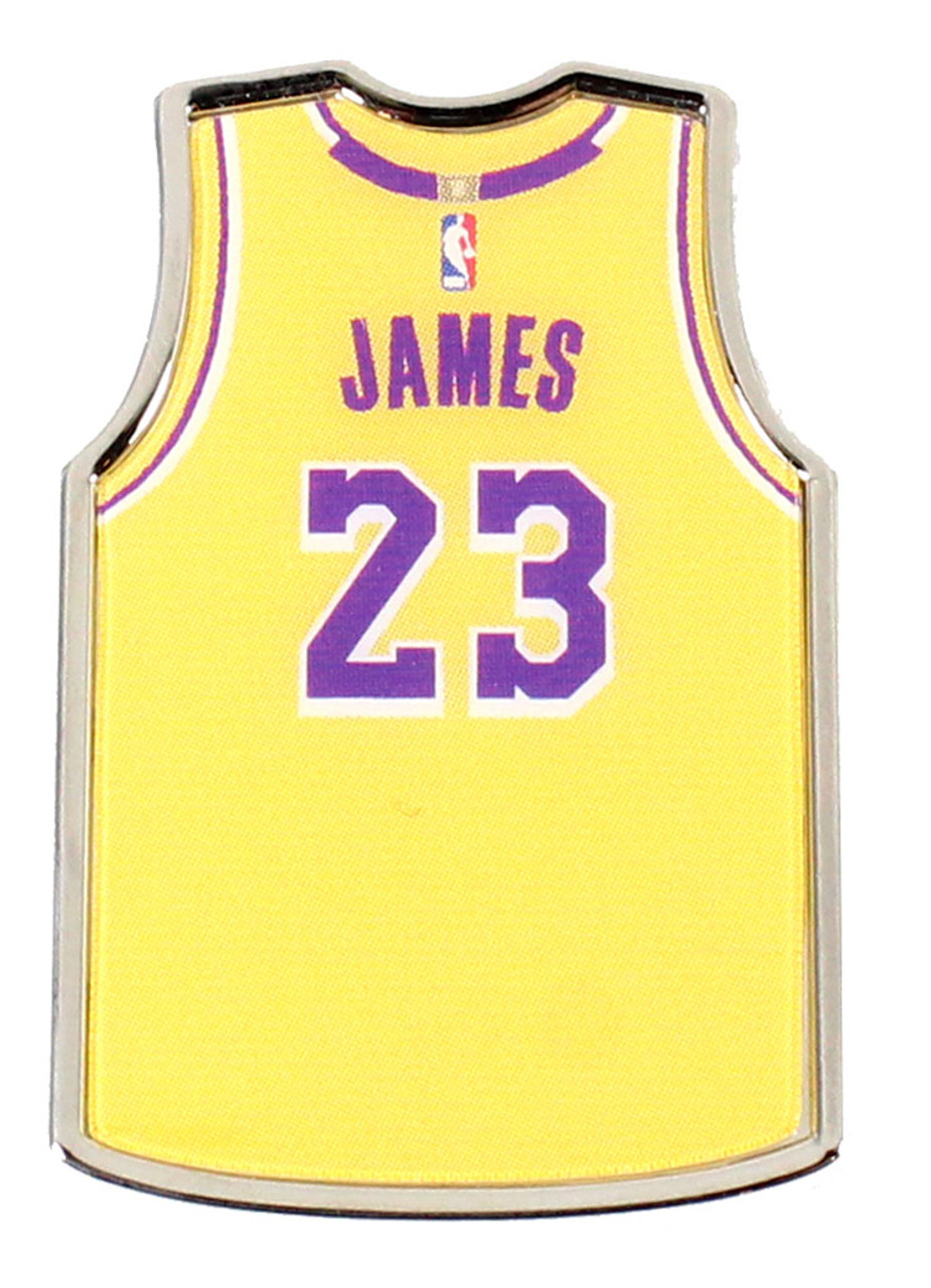 low priced 6eaad 66241 LeBron James Los Angeles Lakers Jersey Pin