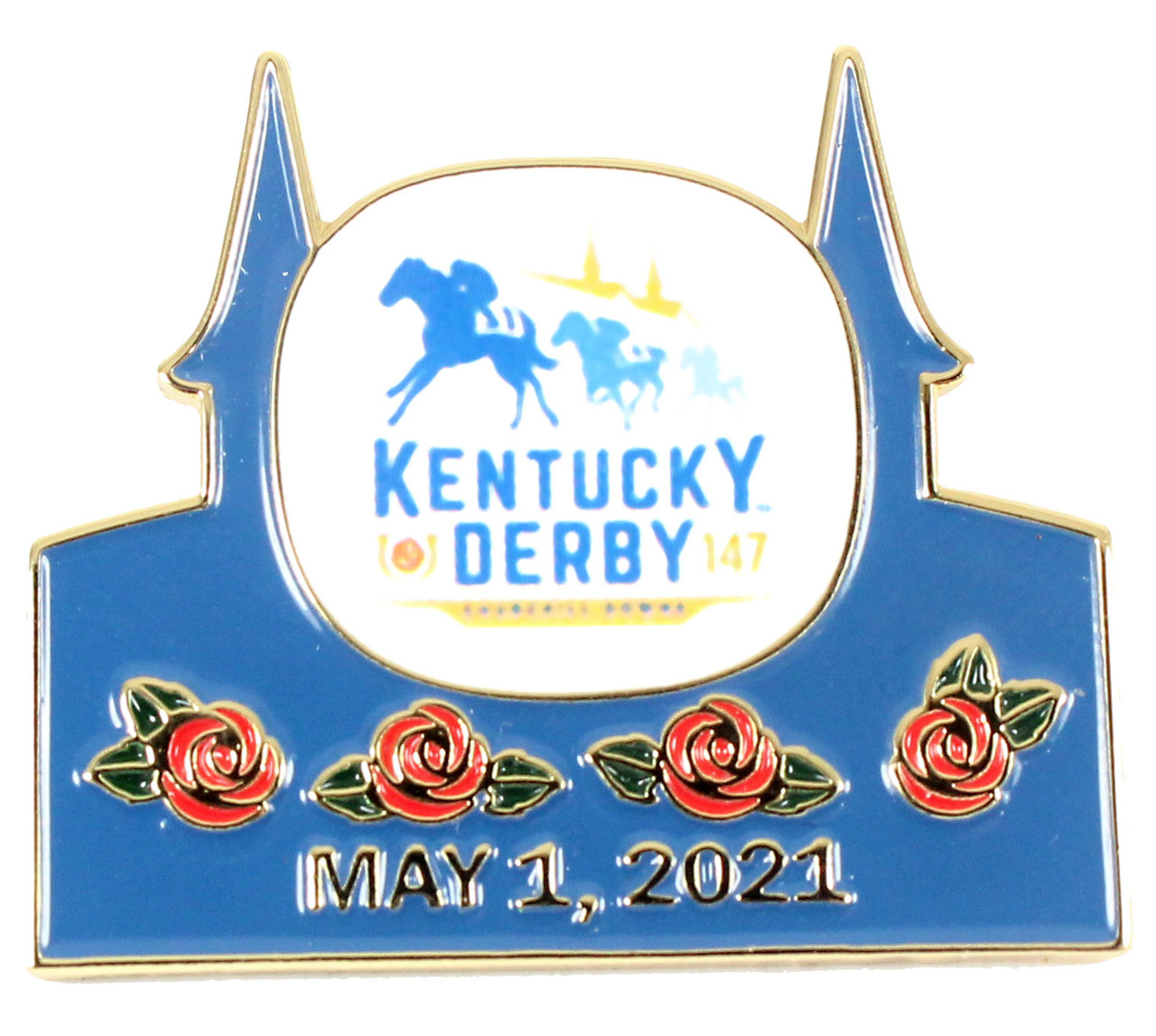 25 Kentucky Derby 25th Logo Pin   w/ Date