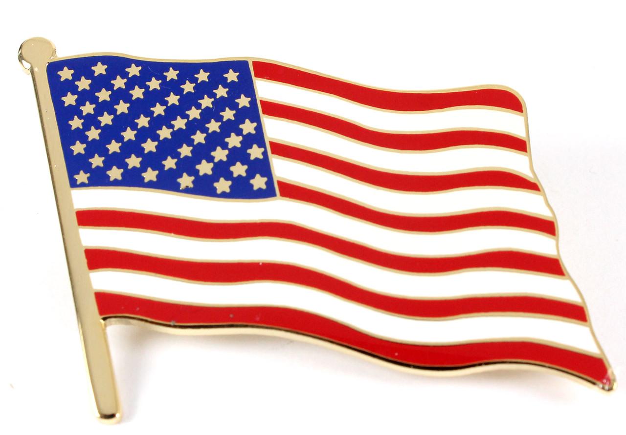 Pittsburgh PA USA Flag Lapel Pin Badge