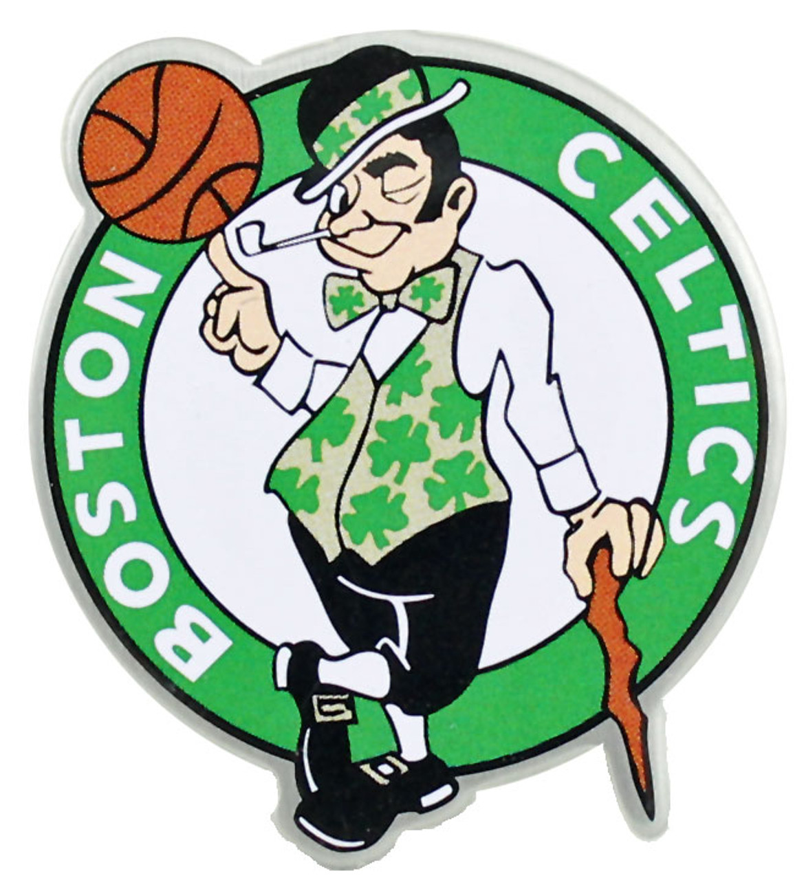 online retailer c4e7b 947bb Boston Celtics Logo Pin
