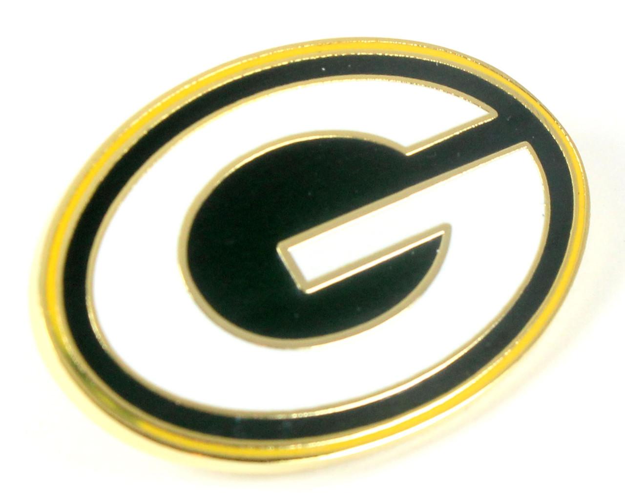 Size 1 aminco NBA Milwaukee Bucks Logo Pin Green