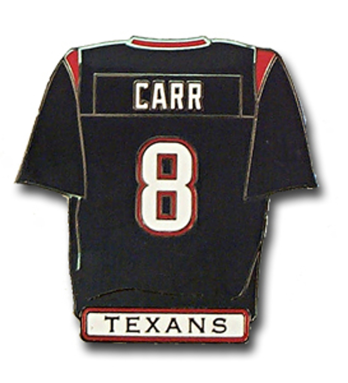 more photos 2e8c5 c0281 Houston Texans David Carr Jersey Pin