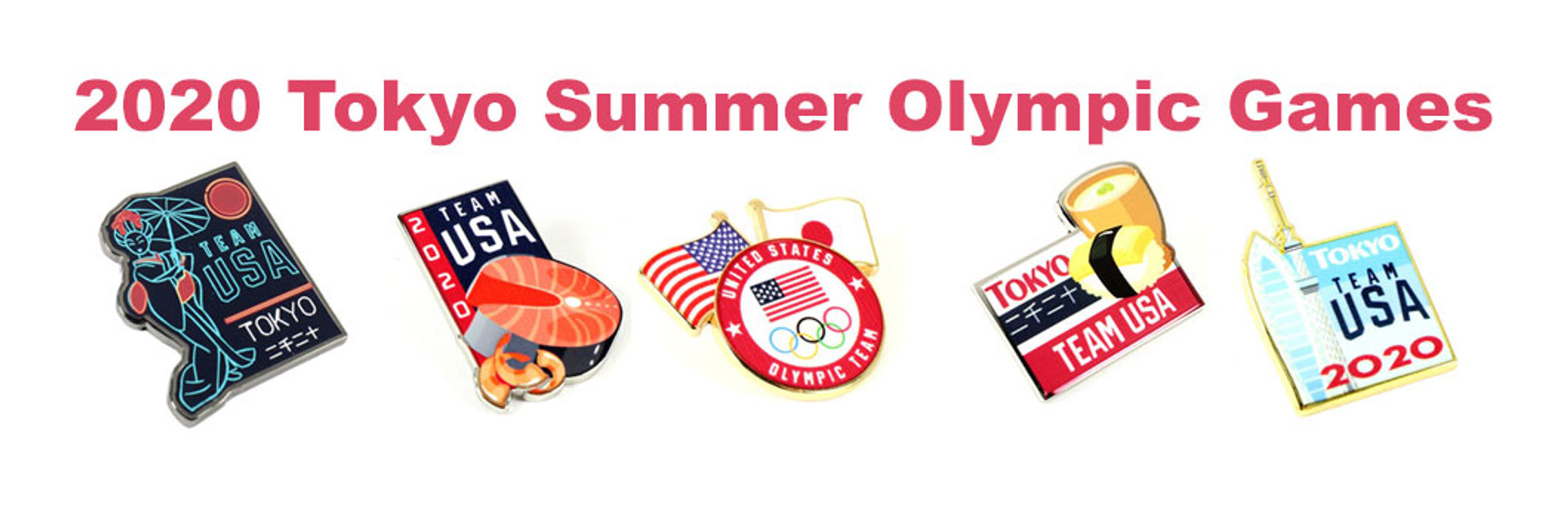 Tokyo 2020 Olympic pins