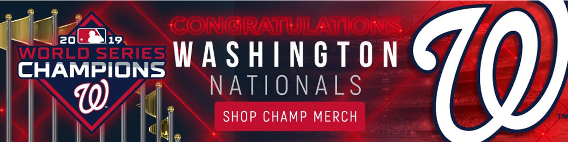 Washington Nationals World Series Champs Pins