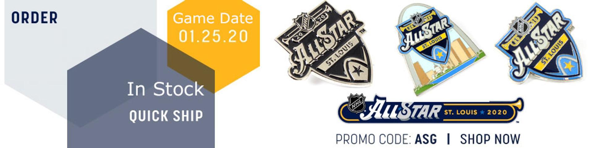NHL All Star Pins