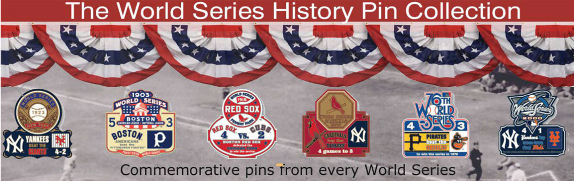 world series pins