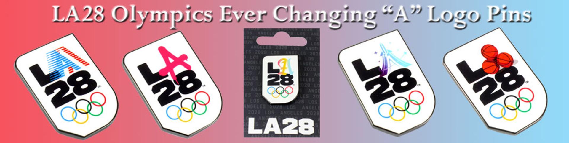la28 olympics pins